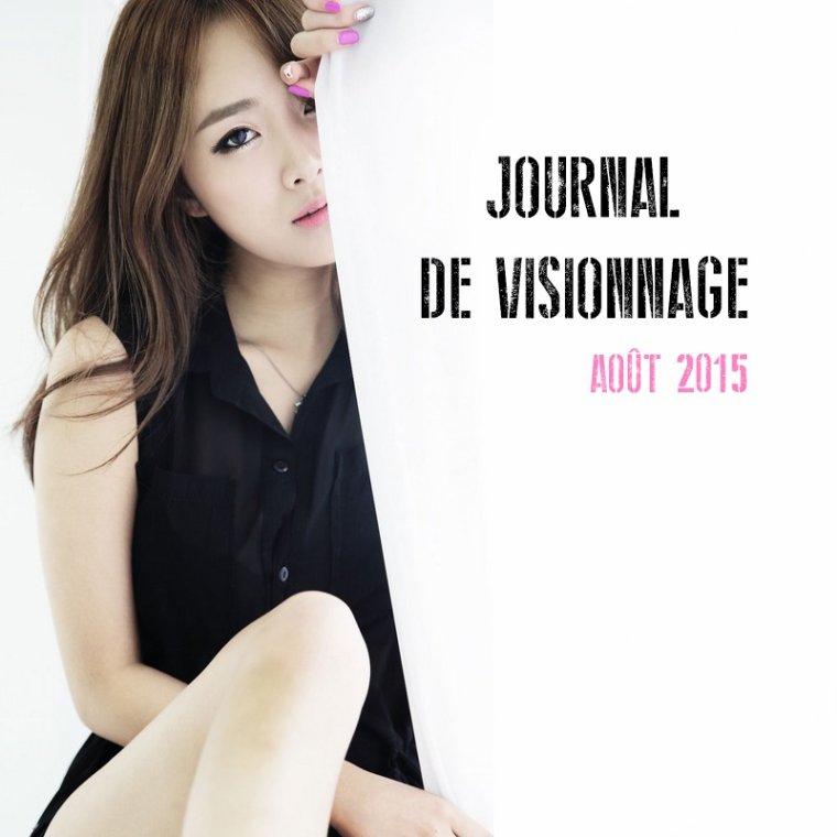 Journal de Visionnage - Août 2015