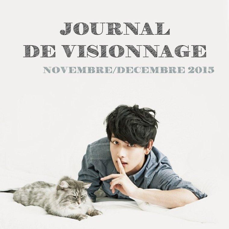 Journal de Visionnage - Novembre/Décembre 2015