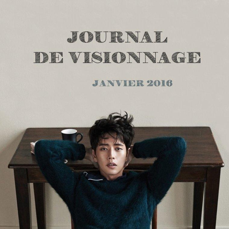 Journal de Visionnage - Janvier 2016