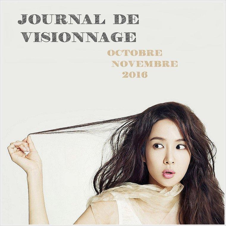 Journal de Visionnage - Octobre / Novembre 2016