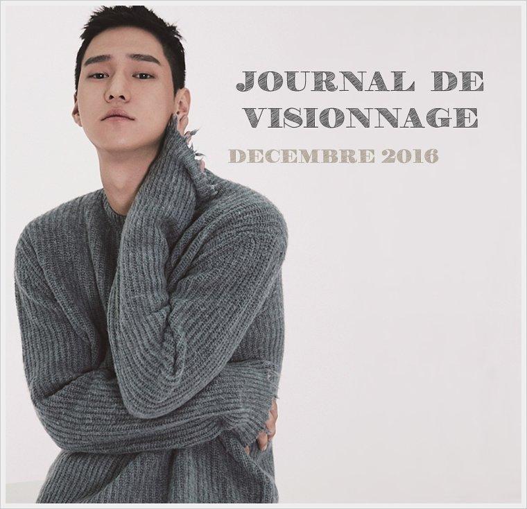 Journal de Visionnage - Décembre 2016