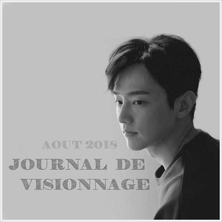 Journal de Visionnage - Août 2018