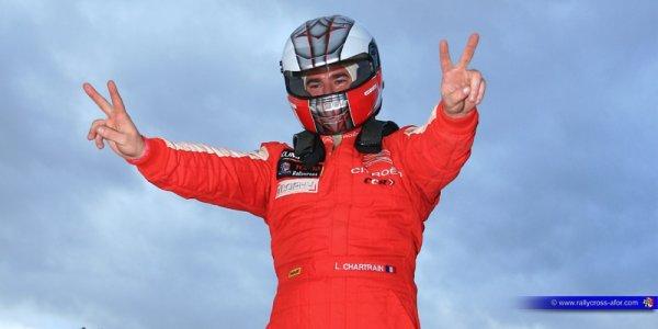 La joie pour Laurent Chartrain pour son titre et sa victoire devant son public, son équipe et ses partenaires