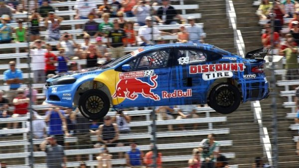 Rallycross: Travis Pastrana met un terme à sa saison