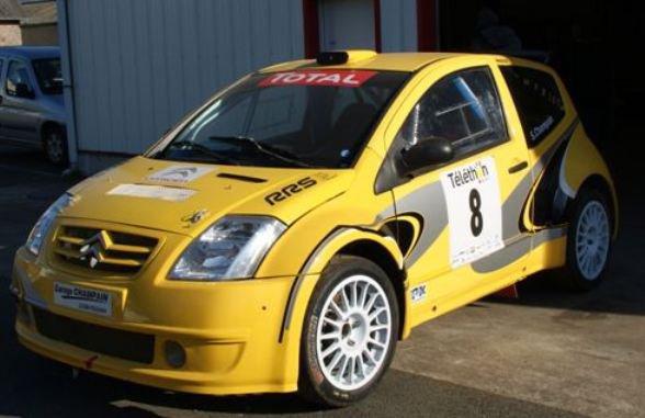 Rallycross France: Une Citroen C2 S1600 pour Stéphane Champain