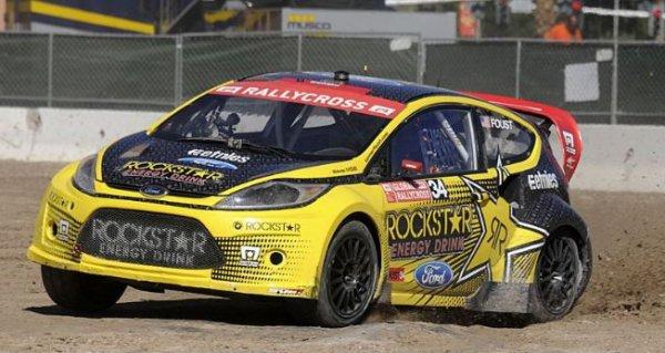 Global Rallycross: Tanner Foust conclut sa saison sur un titre