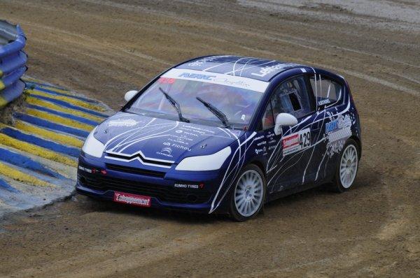 Rallycross France: Nicolas Bothorel en pleine réflexion
