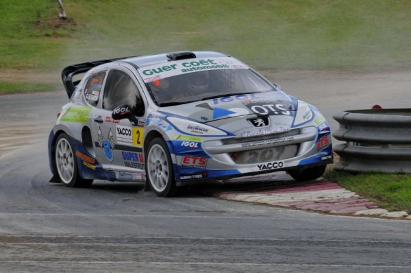Rallycross France/Europe: Gaetan Sérazin reste confiant