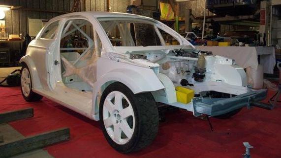 Rallycross France: Yvonnick Jagu en bonne voie pour 2013