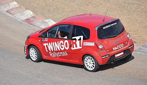 Rallycross France: Fabien Grosset-Janin en Coupe Twingo R1 Rallycross
