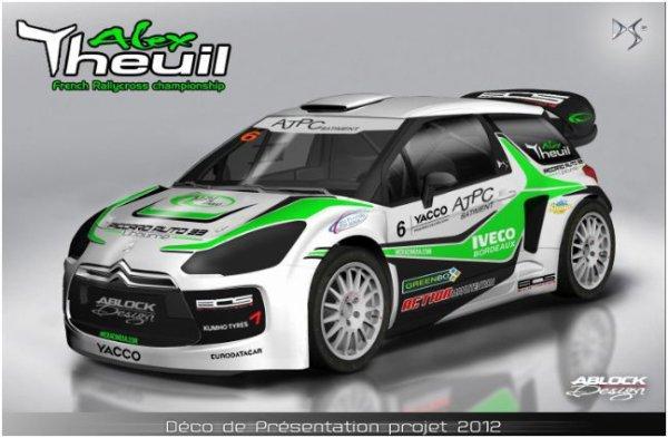 Rallycross France: Des nouvelles de la Citroen DS3 SuperCar