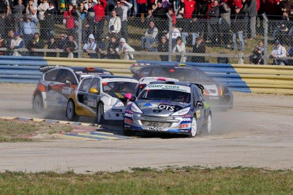 Rallycross France: Gaetan Sérazin toujours dans le flou pour 2013
