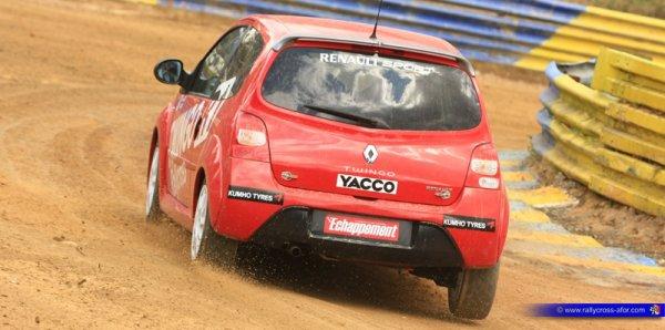 Rallycross France: Enzo Libner vers la Coupe Twingo!