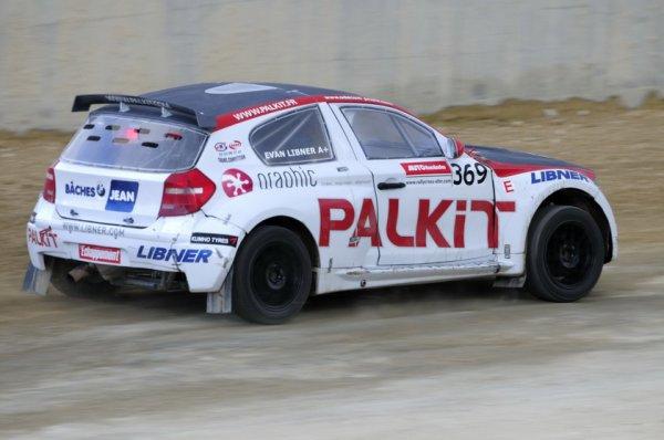 Rallycross France: Une saison d'apprentissage pour Evan Libner