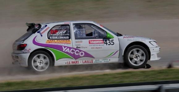 Rallycross France: Sébastien Guillemaud sur la bonne voie