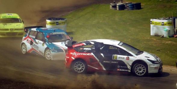 Rallycross Europe: La saison d'Alexander Hvaal en vidéo