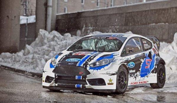 Global Rallycross/XGames: Ford Racing présente la nouvelle Fiesta