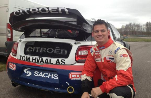 Rallycross Europe: Alexander Hvaal choisit la Citroen DS3