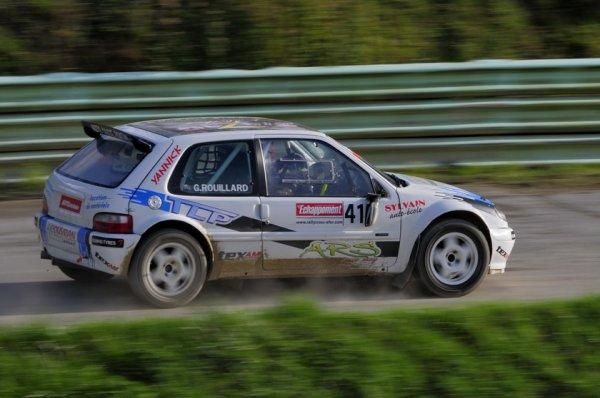 Rallycross France: Pas de Rallycross pour Guillaume Rouillard