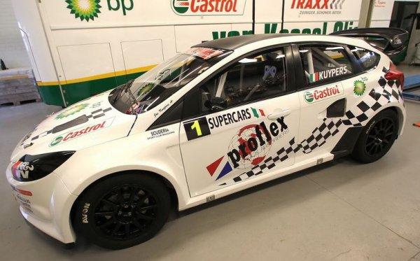 Rallycross Europe: Jos Kuijpers partagé