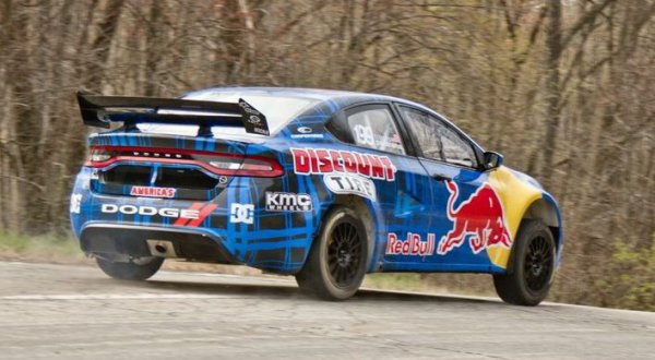 Global Rallycross: Pastrana libéré par le Rough Fenway Racing