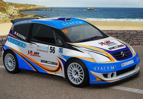 Rallycross France: Une Citroen C2 Super1600 pour Maximilien Eveno