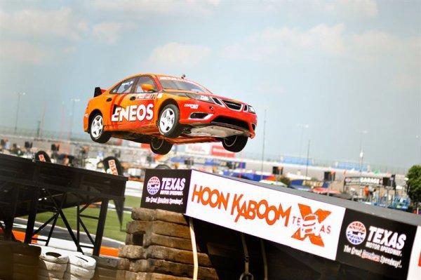 Global Rallycross: Per Eklund dans le flou