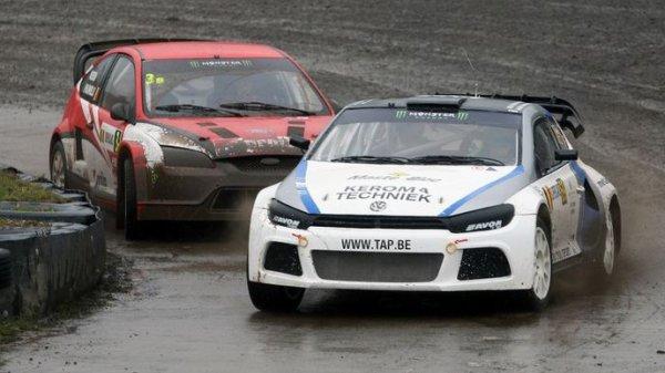Rallycross Belgique: Drôle d'entame pour Jochen Coox