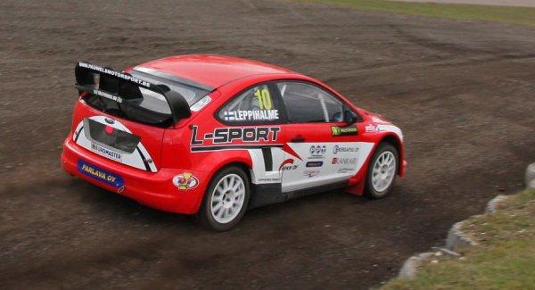 Rallycross Europe: Leppihalme crève l'écran!