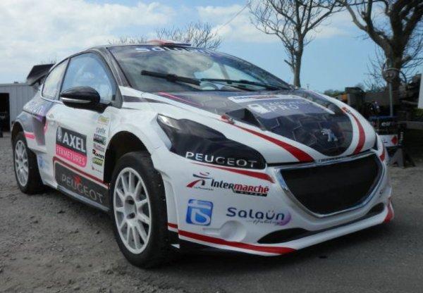 Rallycross France/Europe: Première sortie pour la Peugeot 208 Pailler Compétition