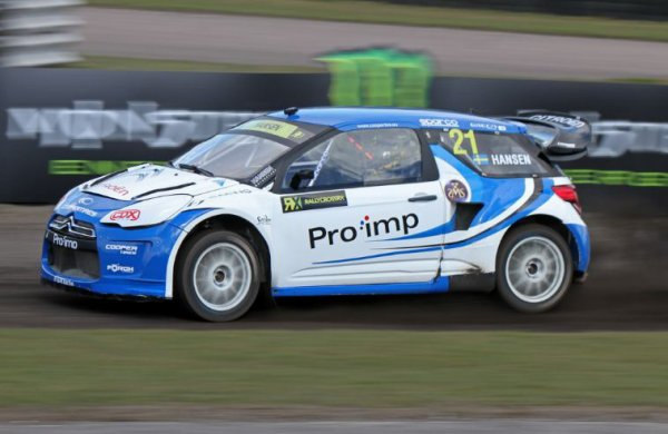 Rallycross Europe (Montalegre): Un week-end compliqué pour Timmy Hansen