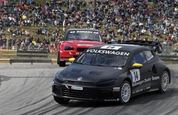 Rallycross Suède: Johan Kristofferson prend ses marques