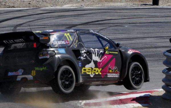 Rallycross Europe (Hongrie): Petter Solberg passe à la vitesse supérieure