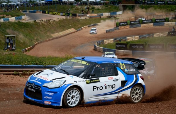 Rallycross Europe (Hongrie): Timmy Hansen ne perd pas de temps
