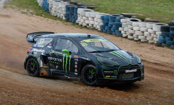 Rallycross Europe (Finlande): Liam Doran pose sa griffe sur le SuperCar