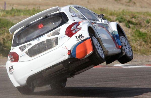 Rallycross Europe (Finlande): Andy Scott cherche la solution