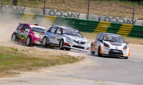 Rallycross France: David Olivier retrouve des couleurs