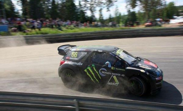 RallycrossRX (Norvège): Andreas Bakkerud et l'enfer Norvégien