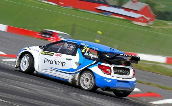 RallycrossRX (Norvège): 4 sur 5 pour Timmy Hansen