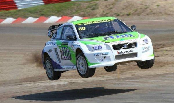 RallycrossRX (Suède): Coup d'arrêt pour Tommy Rustad