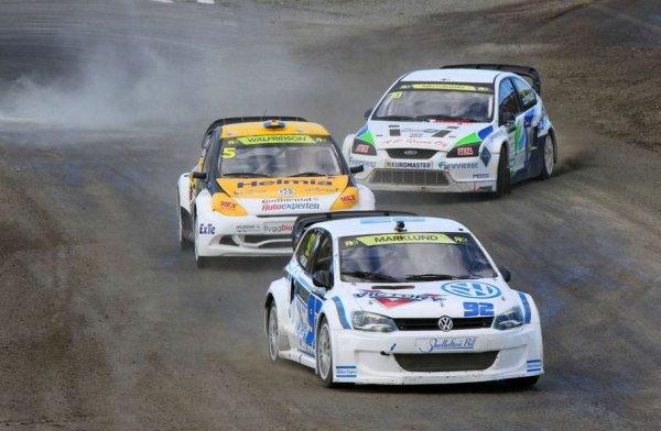 RallycrossRX (Suède): Fin de série pour Anton Marklund