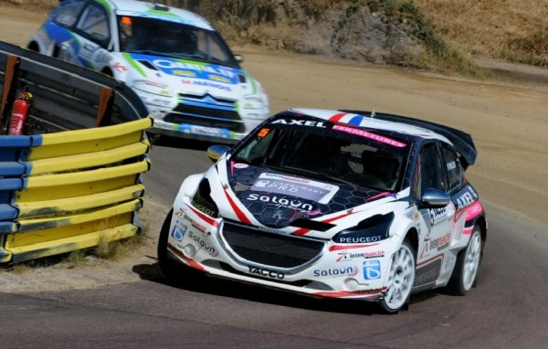 Rallycross France: Fabien Pailler retrouve le podium