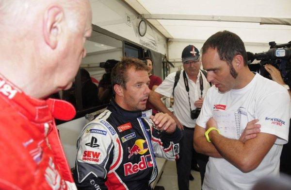 RallycrossRX (Lohéac): Les essais de Sébastien Loeb à Lohéac en images