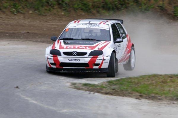 RallycrossRX (Lohéac): Julien Fébreau assure le show