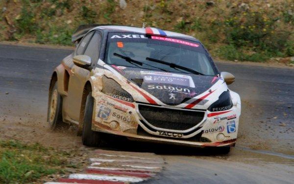 Rallycross France: Le manche de Pont-de-Ruan en vidéo
