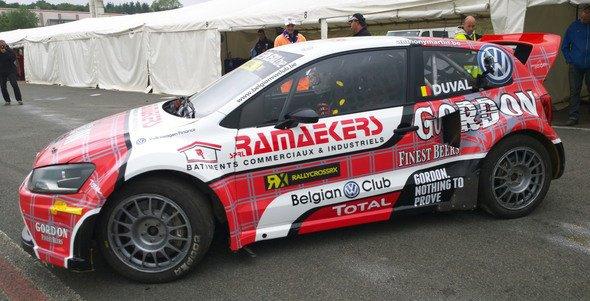 RallycrossRX (Belgique): Une étape capitale pour François Duval?