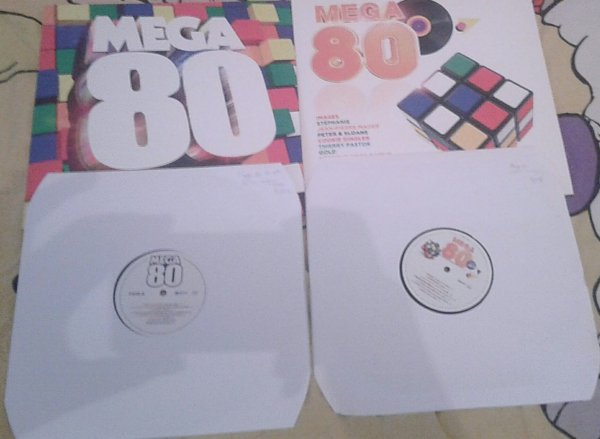 Collection Vinyles - MEGA 80