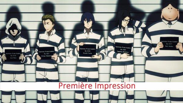 Première Impression: Prison School & Classroom Crisis