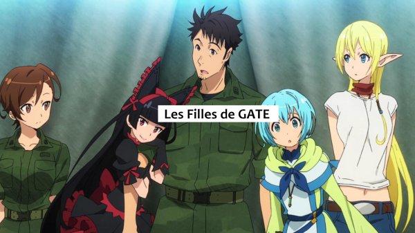 Sondage - Les Filles de GATE