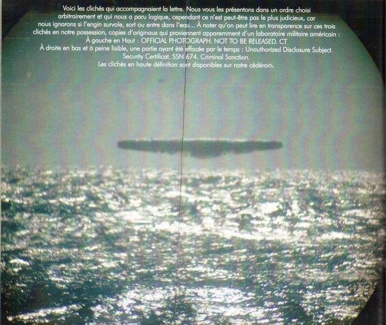 fimé d'un sous marin je crois